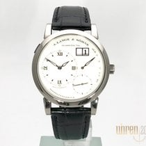 A. Lange & Söhne 38,5mm Manual winding 2014 new Lange 1 Silver