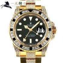 Rolex 116758SANR Or jaune GMT-Master II 40mm