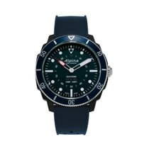 Alpina Horological Smartwatch Acero 44mm Azul