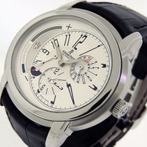 Audemars Piguet Steel Automatic Silver Arabic numerals 42mm pre-owned Millenary