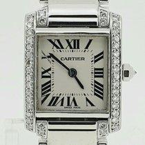 Cartier Or blanc 20mm Quartz W50012S3 occasion Belgique, Antwerpen