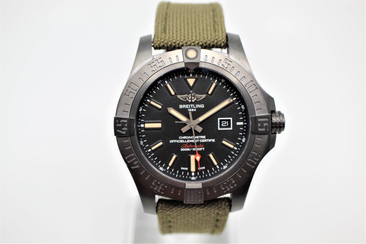 eb99d637c Precio de relojes Breitling Avenger Blackbird en Chrono24