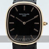 Patek Philippe Golden Ellipse Rose gold 34.5mm Black