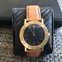 Bulgari Bulgari pre-owned 33mm Black Date Leather