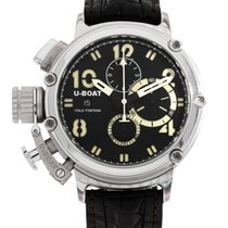 U-Boat Silver Automatic 47mm pre-owned Chimera