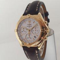 Breitling Chronomat K55046 Sehr gut Gelbgold 37mm Quarz Österreich, Baden