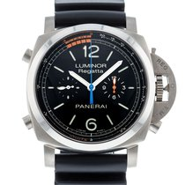 Panerai Luminor 1950 Regatta 3 Days Chrono Flyback PAM 526 Good Titanium 47mm Automatic