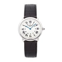 Cartier Ronde Louis Cartier Platinum 34mm Silver Roman numerals United States of America, Pennsylvania, Bala Cynwyd