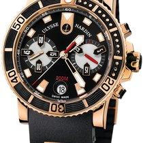 Ulysse Nardin Maxi Marine Diver 8006-102 Very good Rose gold Automatic United States of America, Florida, North Miami Beach