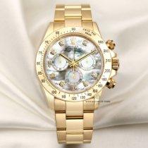 Rolex 116528 Zuto zlato 2007 Daytona 40mm rabljen