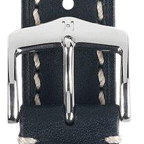 Hirsch Parts/Accessories Men's watch/Unisex 201411107375 new Leather Black
