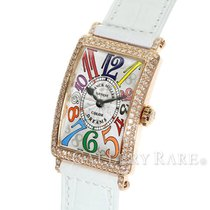 フランク ミュラー・新品/未使用・時計 (説明書付き、化粧箱入り)・23 x 32.5 mm・ピンクゴールド