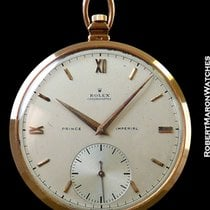 Rolex 4504 Prince Imperial Chronometre 18k Rose Gold