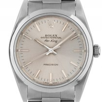 Rolex Air King Stahl Automatik Armband Oyster 34mm Ref.114000...