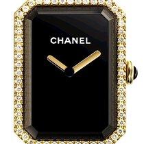 Chanel Première Or jaune 20mm Noir