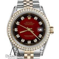 Rolex Lady-Datejust Or/Acier 31mm Rouge