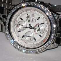 Breitling Bentley GT pre-owned 49mm White Chronograph Date Weekday Steel