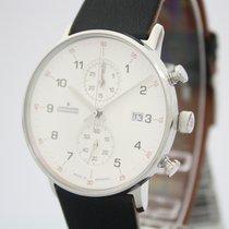 Junghans FORM C new 2021 Quartz Chronograph Watch with original box and original papers 041/4771.00