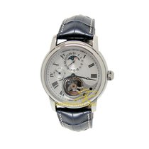 Frederique Constant Manufacture Heart Beat Steel 42mm Silver Roman numerals