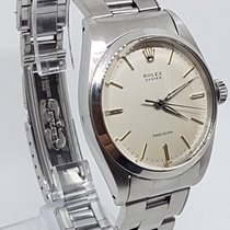 Rolex Oyster Precision stainless steel wristwatch with box 1961