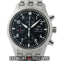 IWC Pilot Collection Pilot Chronograph Stainless Steel 42mm...