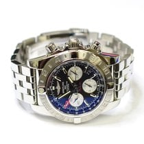 Breitling Chronomat 44mm Stainless Steel Mens Watch AB0420