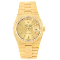 Rolex Oysterquartz President Yellow Gold Champagne Dial Mens...