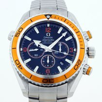Omega Seamaster Planet Ocean Chronograph Steel 45.5mm Black Arabic numerals United States of America, Texas, Dallas