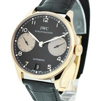 6175c3a8b3c IWC Portuguese Collection 7 Day 18k Rose Gold Boutique Limited ...