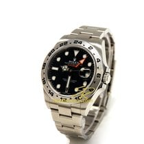 Rolex Explorer II 216570 Automatic Black Dial Steel Case 42mm