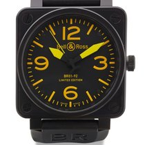 Bell & Ross | Military Spec Ref Br01  A Black Coated stainless...