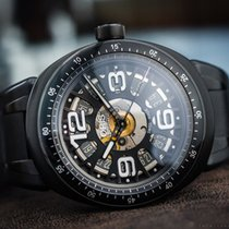 Oris TT1 SKELETON DATE LIMITED EDITION BLACK / BOX&PAPERS
