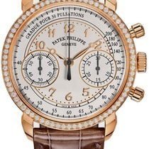 Patek Philippe Chronograph Rose gold Silver United States of America, New York, Brooklyn