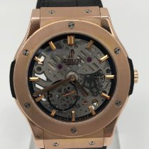 Hublot Classic Fusion Ultra-Thin Or rose 45mm Transparent Sans chiffres France, paris