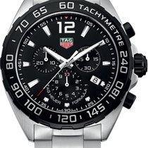 TAG Heuer Chronograph 43mm Quartz new Formula 1 Quartz Black