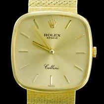 Rolex Cellini Geelgoud 30mm Geel Geen cijfers