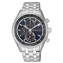 Citizen CA0451-89L CITIZEN Chrono Eco Drive Acciaio Blu 40mm new