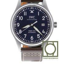 IWC Pilot Mark Acier 40mm Bleu Arabes