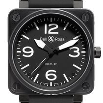 Bell & Ross BR 01-92 new 2018 Automatic Watch with original box and original papers BR0192-BL-CA