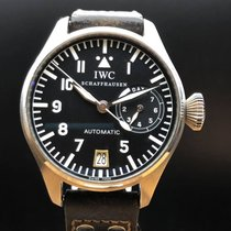 IWC Big Pilot Steel 46mm Black Arabic numerals Singapore, Singapore