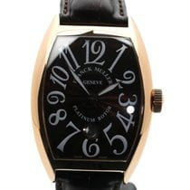 Franck Muller Red gold Automatic Brown Arabic numerals 40mm pre-owned Cintrée Curvex