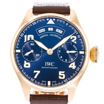 IWC Big Pilot Rose gold 46mm Blue United States of America, Georgia, Atlanta