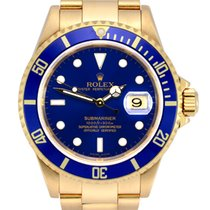 Rolex Submariner Date 16618 Very good Yellow gold 40mm Automatic United Kingdom, Manchester