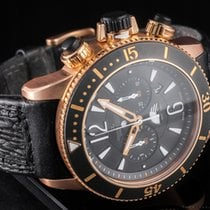 Jaeger-LeCoultre Master Compressor Diving Chronograph GMT Navy SEALs Oro amarillo 46mm Negro