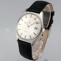 Omega Steel Automatic Silver No numerals 34.5mm pre-owned Genève