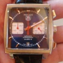 TAG Heuer Monaco Calibre 12 Steel Blue No numerals