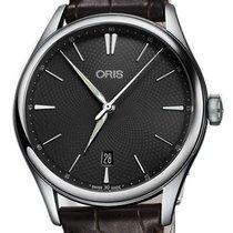 Oris Artelier Date 01 733 7721 4053-07 5 21 65FC new