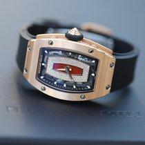 Richard Mille RM 07 Ruzicasto zlato 45.66mm Proziran Bez brojeva
