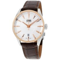 Oris Artix Date Steel 39mm Silver Arabic numerals United States of America, New York, Brooklyn