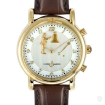 Ulysse Nardin San Marco pre-owned 40mm Mother of pearl Leather
